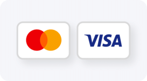 visa and mastercard payments rate